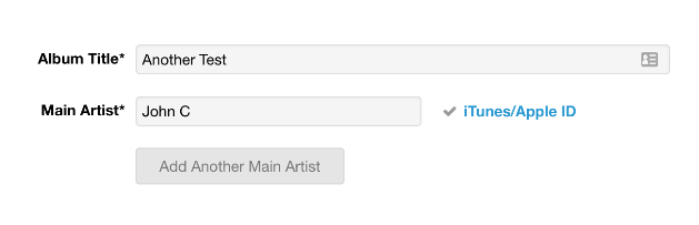 How do I find my Artist ID / Artist URL in iTunes and Apple